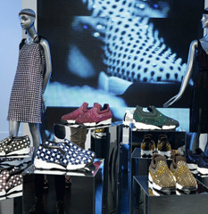 Pinko ShinebabyShine display//Milano - Parigi
