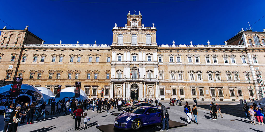 Gran Turismo Sport launch event // Modena