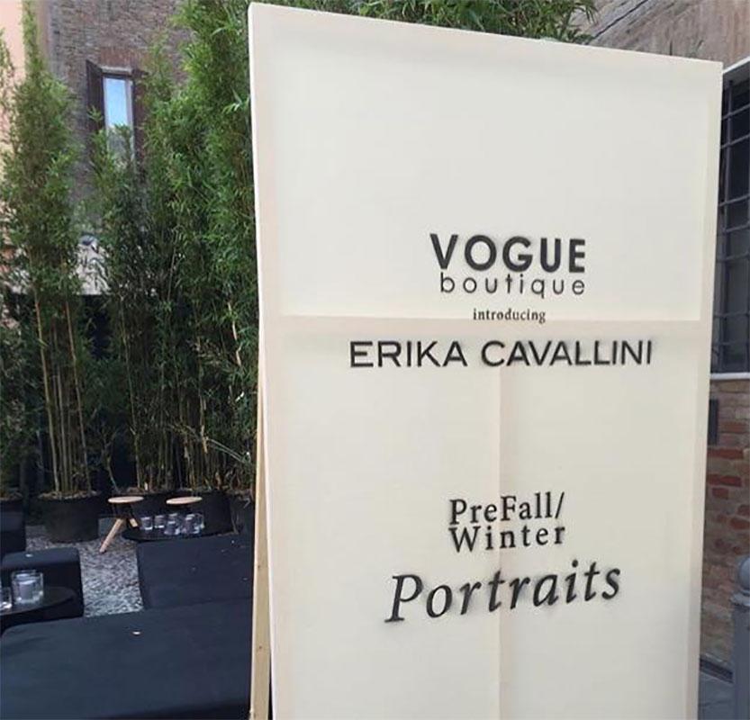 Sfilata Erika Cavallini @ Vogue Boutique // Formigine